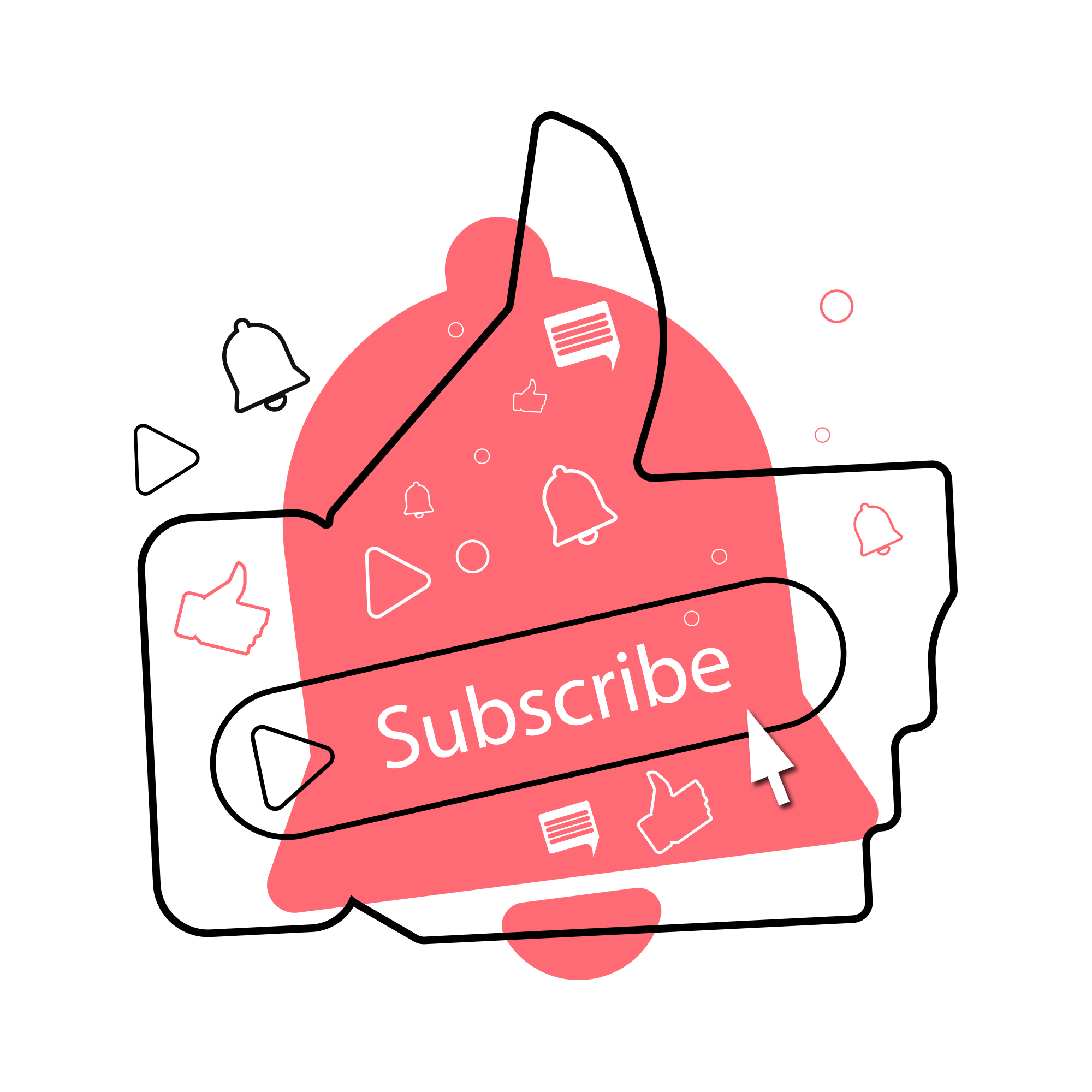 —Pngtree—youtube subscribe button transparent_5370058